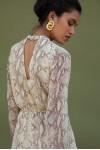 Short Dress In Snake Print