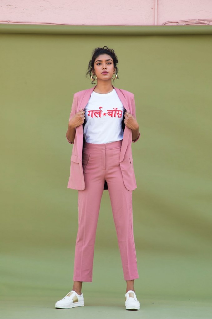 Blush Formal Pants
