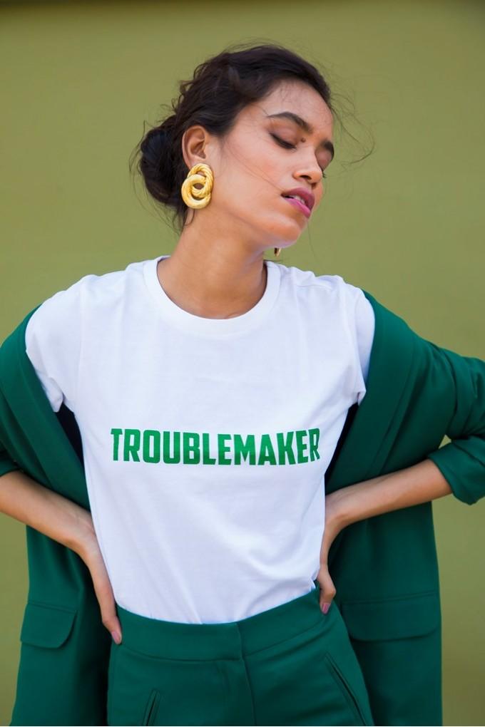 """TROUBLEMAKER"" Graphic Tshirt"