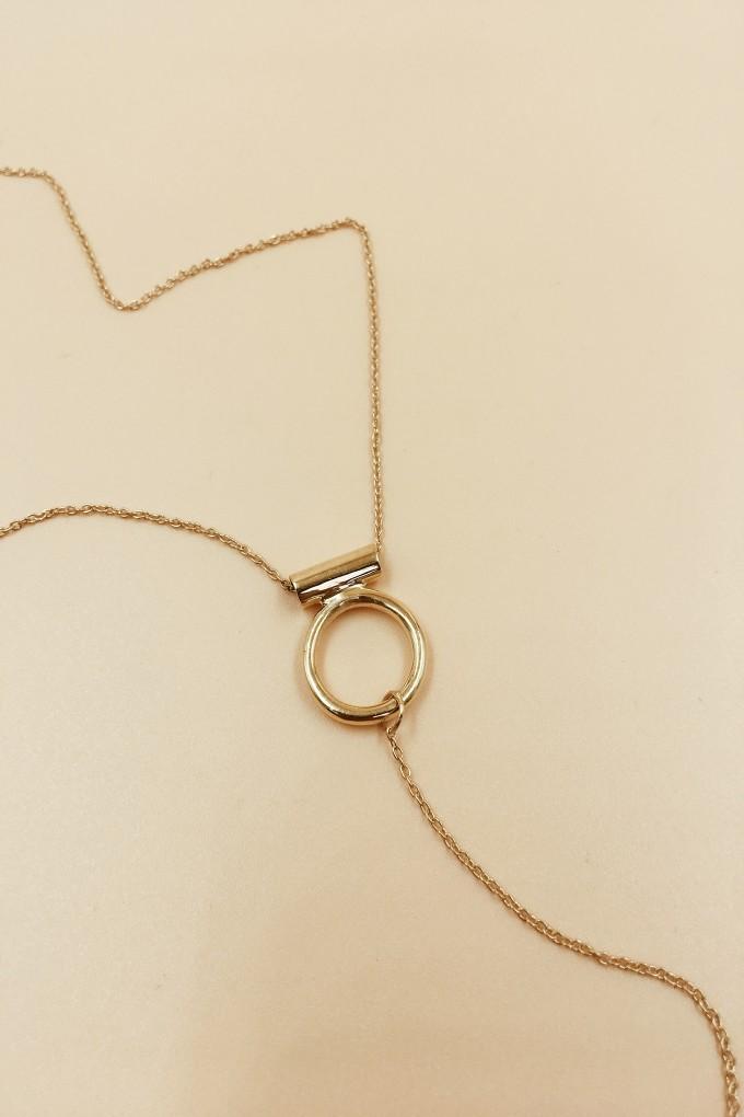 Soldier Lariat Necklace