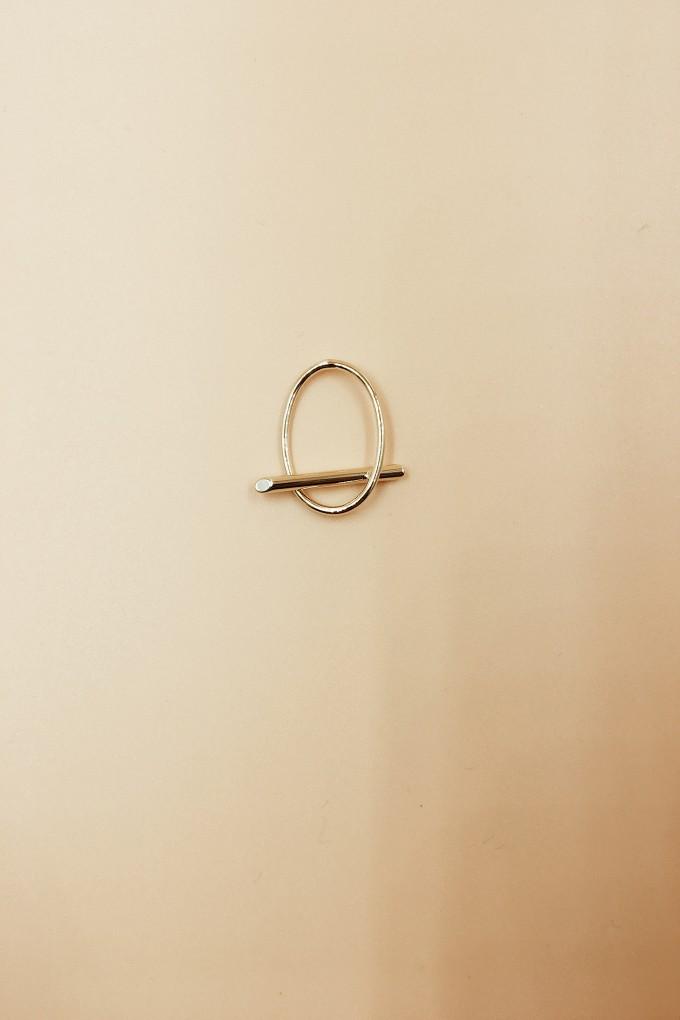 Veeda Oval Bar Ring
