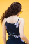 Floral print top and pant set