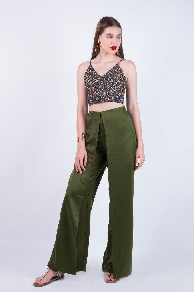 Jane Green Slit Pant